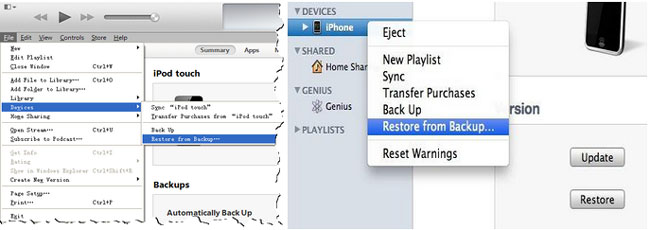 recover iphone notes from whole itunes backup