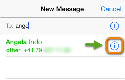 recover contacts from iphone messages app