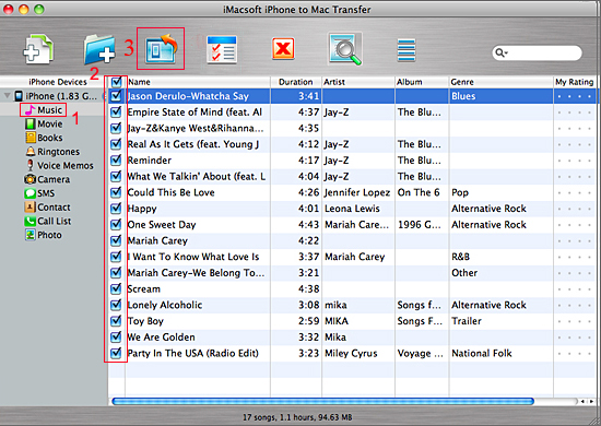 copy music from iphone to computer how to transfer from iphone to mac iphone to mac 2974